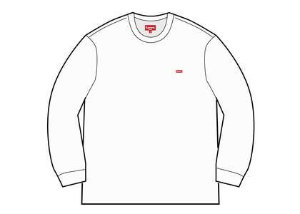 Supreme Small Box L/S Tee (SS21) Whiteの写真