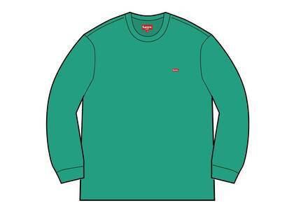 Supreme Small Box L/S Tee (SS21) Tealの写真