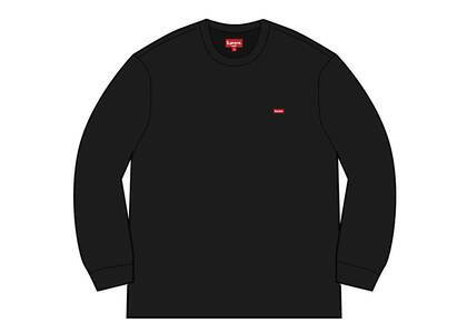 Supreme Small Box L/S Tee (SS21) Blackの写真