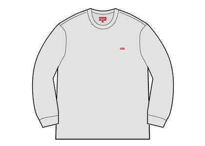 Supreme Small Box L/S Tee (SS21) Ash Greyの写真