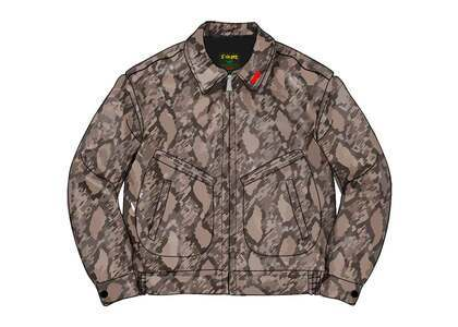 Supreme Schott Leather Work Jacket (SS21) Snakeskinの写真