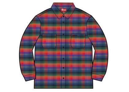 Supreme Plaid Flannel Shirt (SS21) Multicolorの写真