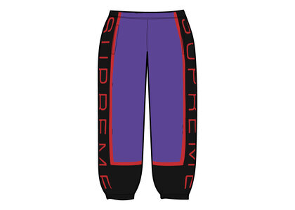 Supreme Paneled Sweatpant (SS21) Purpleの写真