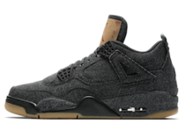 Levi's × Nike Air Jordan 4 Retro Blackの写真