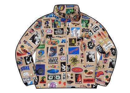 Supreme GORE-TEX Stickers Shell Jacket (SS21) Tanの写真