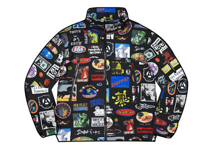 Supreme GORE-TEX Stickers Shell Jacket (SS21) Blackの写真