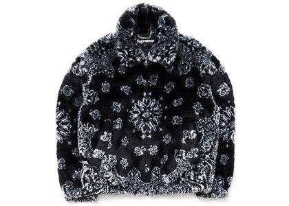 Supreme Bandana Faux Fur Bomber Jacket Blackの写真