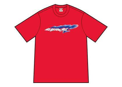 Supreme Wind Tee Redの写真