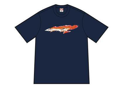 Supreme Wind Tee Navyの写真