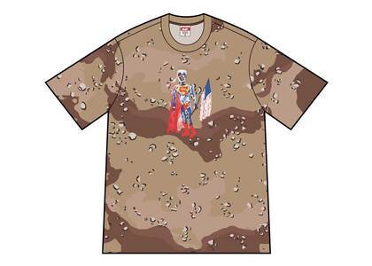 Supreme Skeleton Tee Chocolate Chip Camoの写真