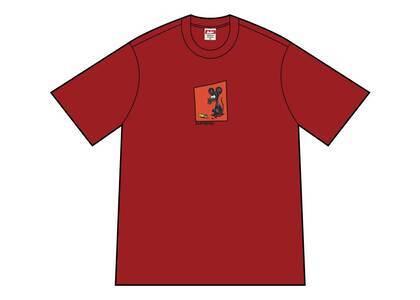 Supreme Mouse Tee Cardinalの写真