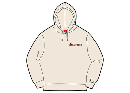 Supreme Supreme Love Hooded Sweatshirt Naturalの写真