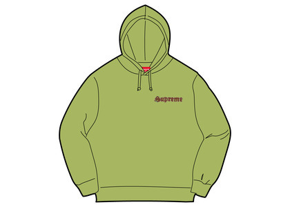 Supreme Supreme Love Hooded Sweatshirt Limeの写真
