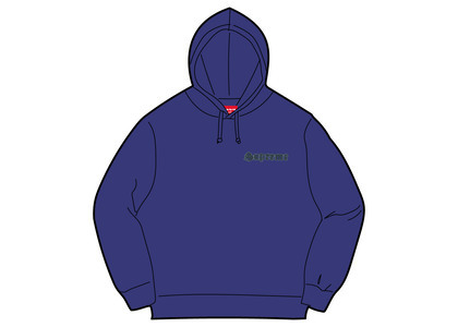 Supreme Supreme Love Hooded Sweatshirt Dark Royalの写真