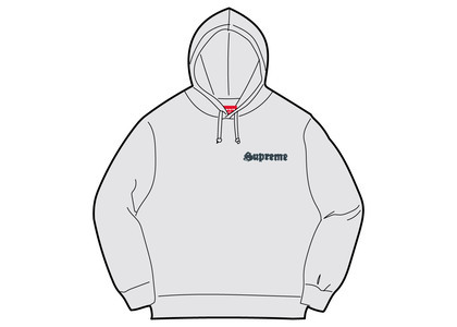Supreme Supreme Love Hooded Sweatshirt Ash Greyの写真