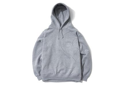 Supreme Laser Cut S Logo Hooded Sweatshirt Heather Greyの写真