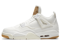 Levi's × Nike Air Jordan 4 Retro Whiteの写真