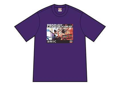 Supreme HNIC Tee Purpleの写真