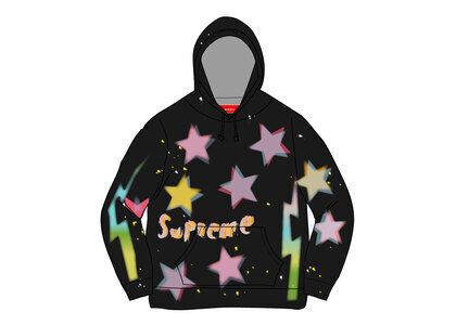 Supreme Gonz Stars Hooded Sweatshirt Blackの写真
