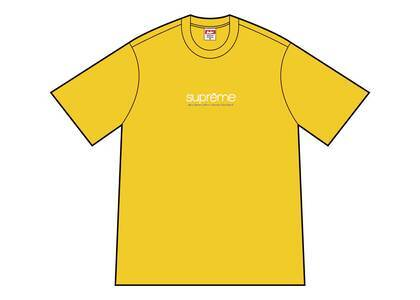 Supreme Five Boroughs Tee Yellowの写真