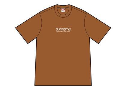 Supreme Five Boroughs Tee Brownの写真