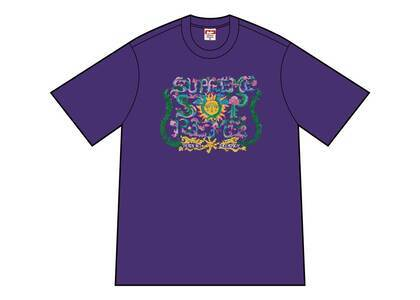 Supreme Crest Tee Purpleの写真