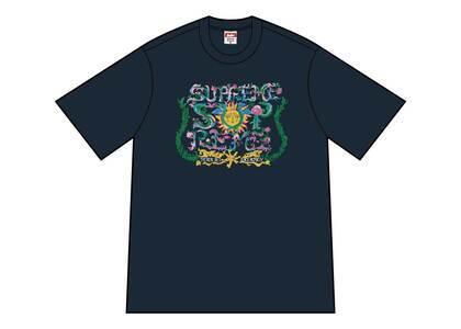 Supreme Crest Tee Navyの写真