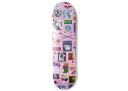 Supreme Stickers Skateboard Pinkの写真