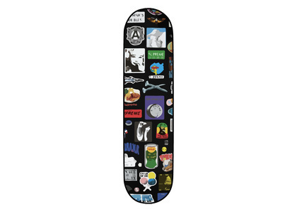 Supreme Stickers Skateboard Blackの写真