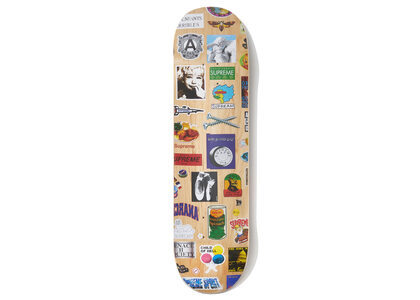 Supreme Stickers Skateboard Naturalの写真