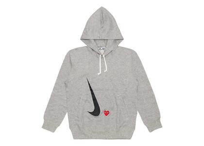 Play Comme Des Garcons × Nike Play Together Hoodie Grayの写真