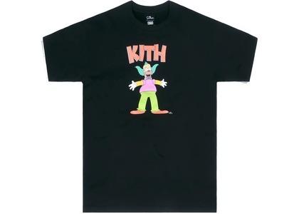 Kith x The Simpsons Krusty Tee Blackの写真