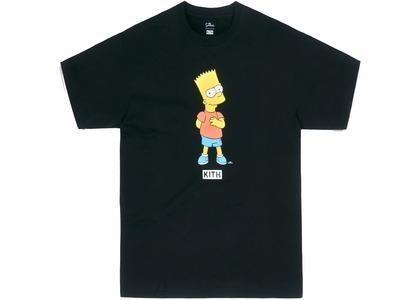 Kith x The Simpsons Bart Tee Blackの写真