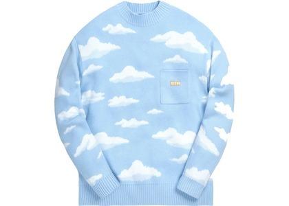 Kith x The Simpsons Cloud Intarsia Sweater Blueの写真