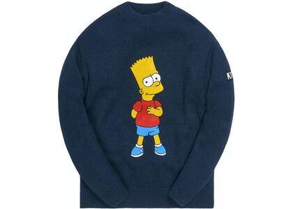 Kith x The Simpsons Bart Intarsia Sweater Navy/Multiの写真