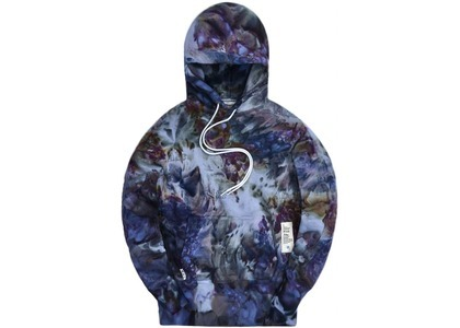 Kith x Advisory Board Crystals Hoodie Storm Dyeの写真