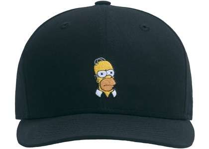 Kith x The Simpsons Homer Low Crown 59Fiftey Blackの写真