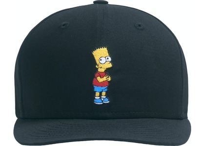 Kith x The Simpsons Bart Low Crown 59Fiftey Blackの写真