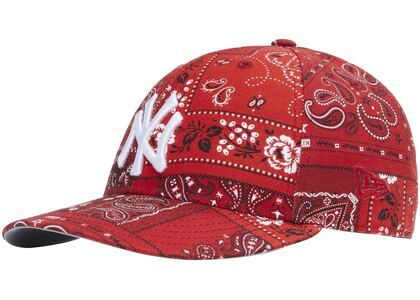 Kith For New Era Yankees Deconstructed Bandana Low Profile Cap Pyreの写真