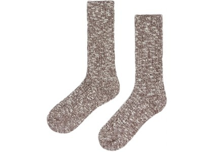 Kith Marled Crew Socks Dusty Mauveの写真