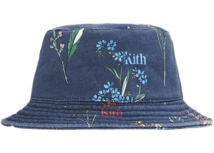 Kith Botanical Floral Bucket Hat Nocturnalの写真