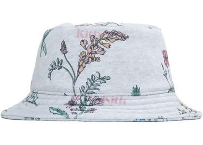 Kith Botanical Floral Bucket Hat Light Heather Greyの写真