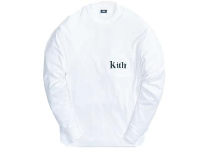 Kith Quinn L/S Tee Whiteの写真