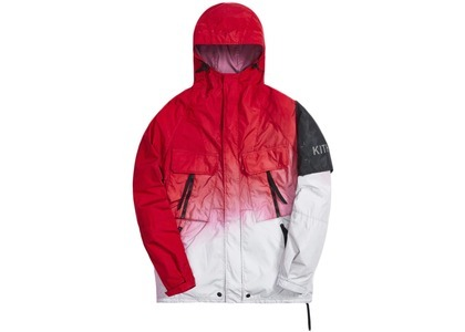Kith for Nemen Dare 3L Dip Dye Jacket Samba Red Dip Dyeの写真