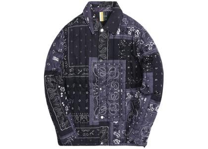 Kith Carmine Coaches Jacket Blackの写真