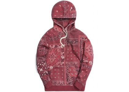 Kith Deconstructed Bandana Williams III Hoodie Pyreの写真