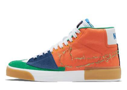 Nike SB Zoom Blazer Mid Edge Safety Orangeの写真