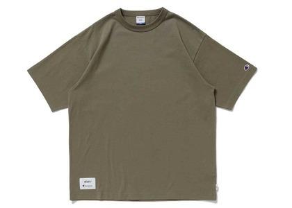 Wtaps × Champion Short Sleeve T-Shirt Oliveの写真