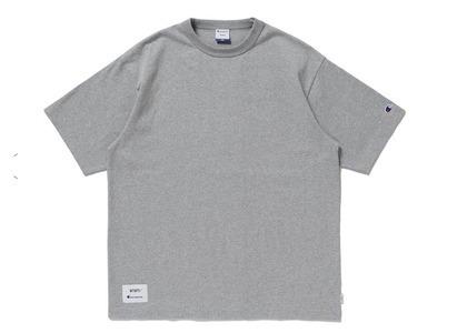 Wtaps × Champion Short Sleeve T-Shirt Greyの写真