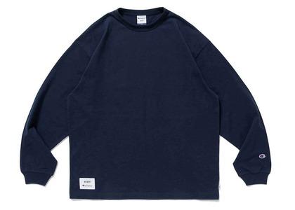 Wtaps × Champion long Sleeve T-Shirt Navyの写真
